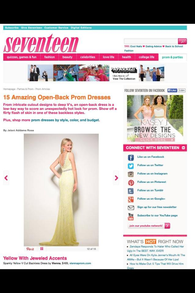 Seventeen Prom Issue 2015