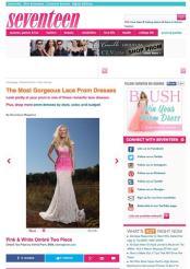 Seventeen.com March 2015