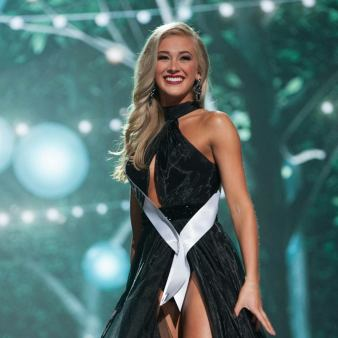 Miss USA 2017 Evening Gown